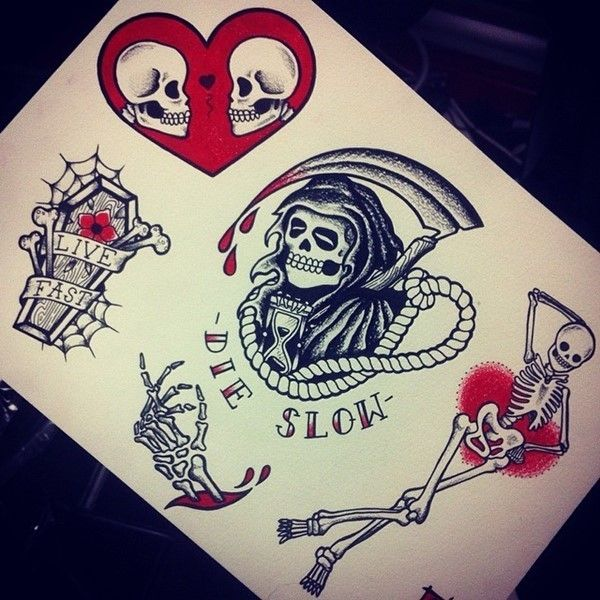 100 Most Unusual Grim Reaper Tattoo Designs nice
