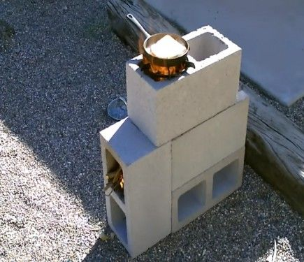 17 best images about blocks on pinterest tree rings for Decorative rocket stove