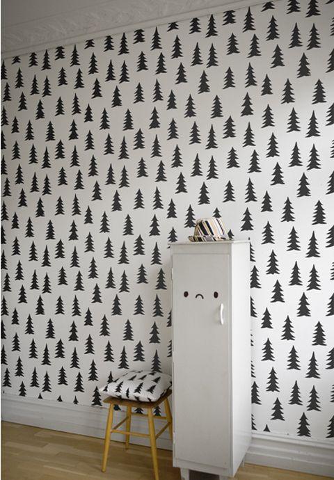"babble's best of kid's wallpapers {fine little day's ""gran"" wall paper"
