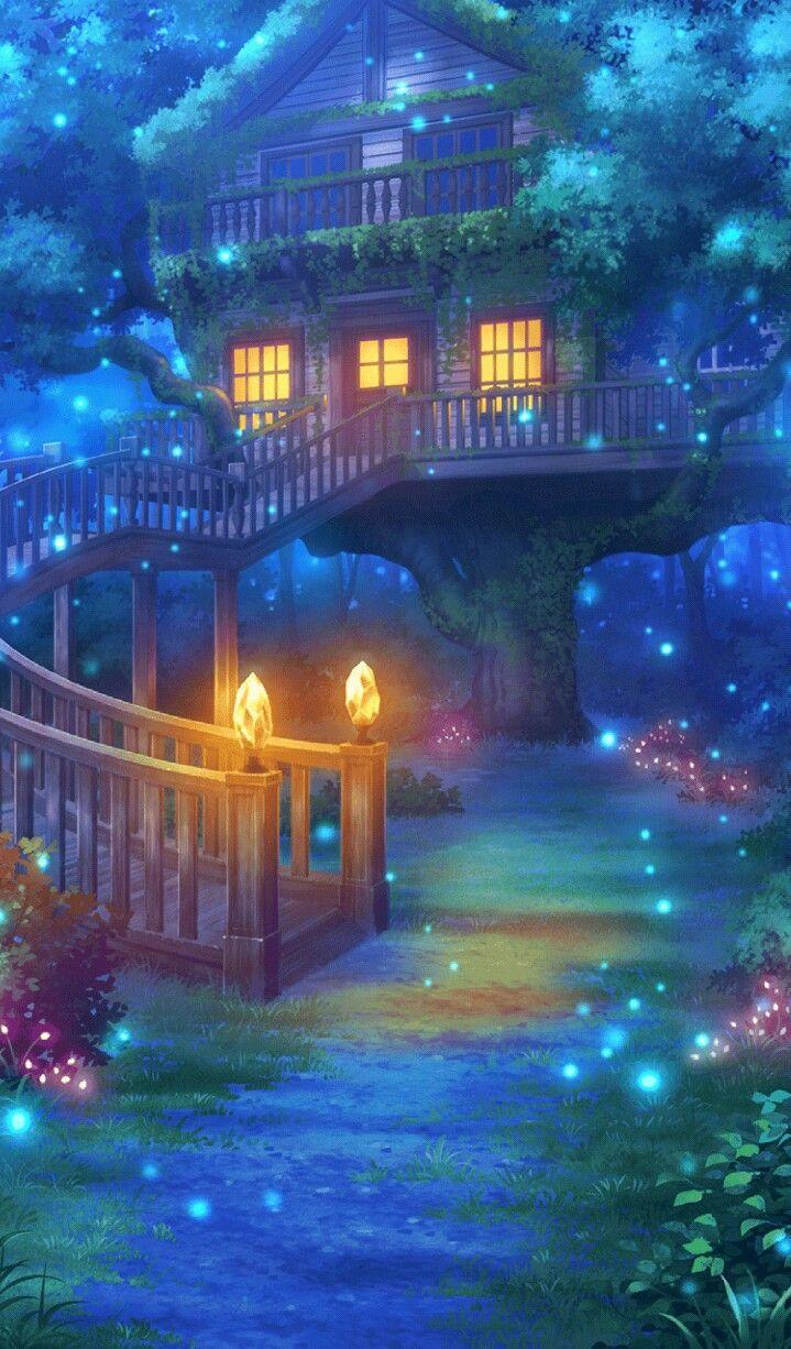 Image result for fantasy art cute night