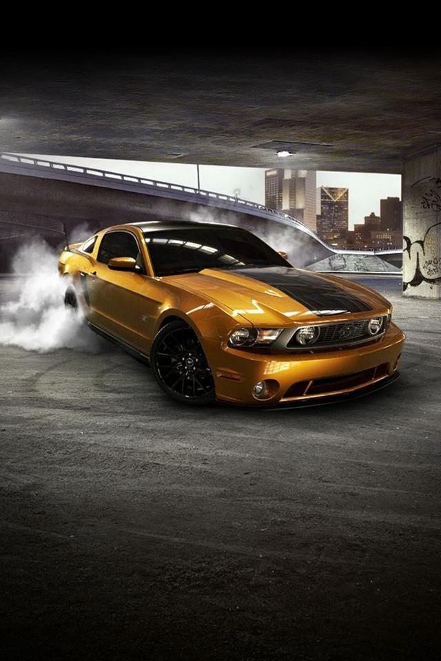 Tuning Mustang iPhone Wallpaper Cars & Motorcycles