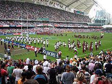 The Hong Kong Sevens is considered the premier tournament on the IRB Sevens World Series rugby sevens competition and is held annually in Hong Kong on a weekend in late March. - Wikipedia, the free encyclopedia