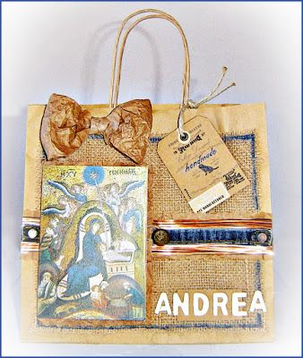"Le Ghirlande: Serie ""gift scrap bags recycling"""