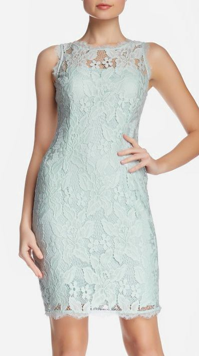 Adrianna Papell | Sleeveless Lace Cocktail Dress
