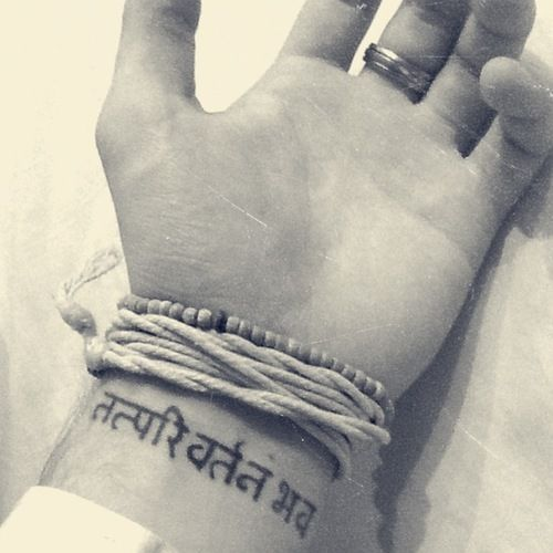 Best 25+ Hindi Tattoo Ideas On Pinterest