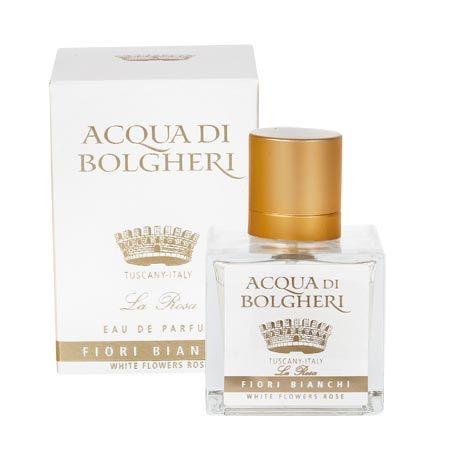 Acqua di Bolgheri Fiori Bianchi: http://www.drtaffi.it/lines/acqua-di-bolgheri/white-flower-rose/profumo-rosa-acqua-di-bolgheri-fiori-bianchi.html#.U2eSK2R_uMd