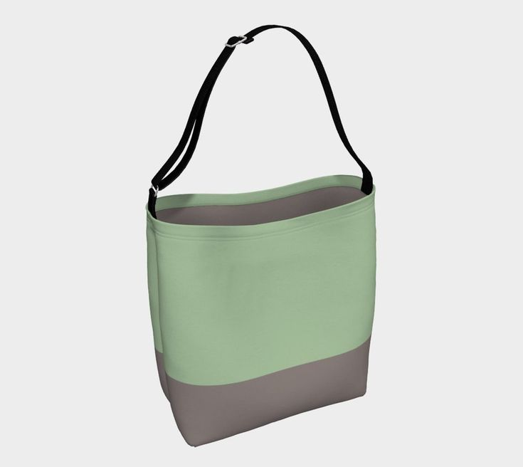 Green & Sandstone day tote. For more beautiful, eco, handmade yoga and swim leggings, crop tops, mini shorts, kimonos, beanies, and more, go to www.sleepysweats.com.  #leggings #highquality #eco #organic #performance #yoga #surf #surfwear #swim #summer #swimwear #trend #scarves #scarf #beanie #headband #buff #fashion #2018 #kimono #robe #peignoir #bags #totes #handbag #neoprene #gift #idea #lady #woman #mom #babyshower #pregnancy #beautiful