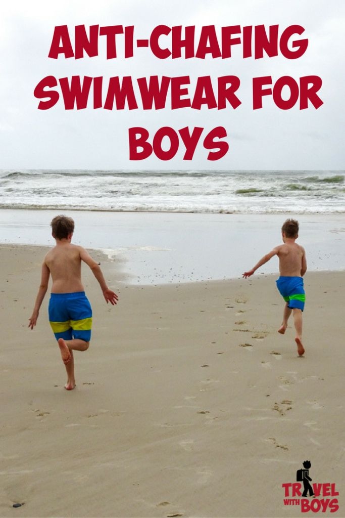 How to stop chafing at the beach - Travel with Boys