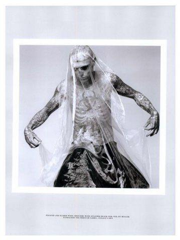 Rick Genest / Male Models, Tattoos