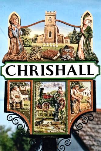 The Essex village of Chrishall has been a community for at least 900 years, as confirmed in the Domesday Book of 1086. The village has been home to a church for over a thousand years. Prior to the Norman invasion, Holy Trinity Church, a small church dedicated to the Virgin Mary, was situated on its present site.