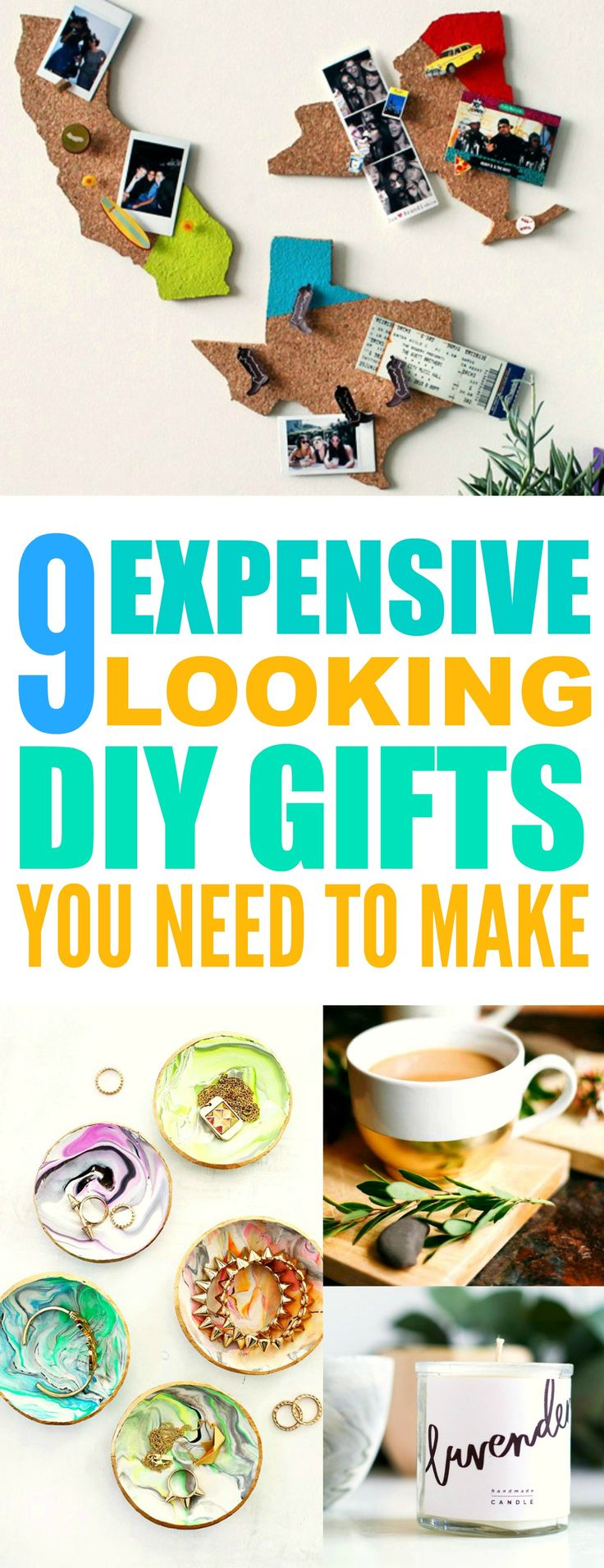 These 9 Expensive Looking DIY gifts are THE BEST! I'm so happy I found these AWESOME ideas! Now I found some great gifts to make for friends. Definitely pinning for later!