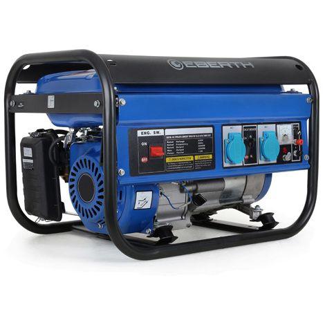 Générateur électrique puissant 3000 watts groupe electrogene à essence - GG1-ER3000 - Electricité