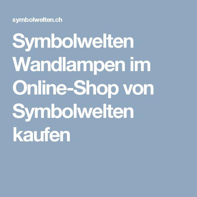 Symbolwelten  Wandlampen im Online-Shop von Symbolwelten kaufen