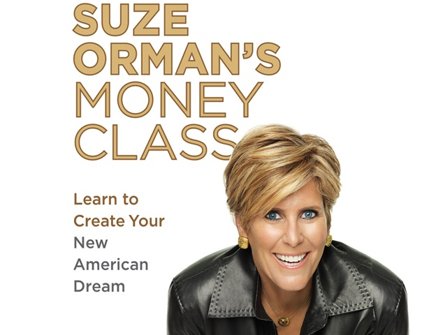 Suze Orman's latest book is The Money Class: How to Stand in Your Truth and Create the Future You Deserve (Spiegel & Grau). From the January issue of O, The Oprah Magazine Please note: This is general information and is not intended to be legal advice.