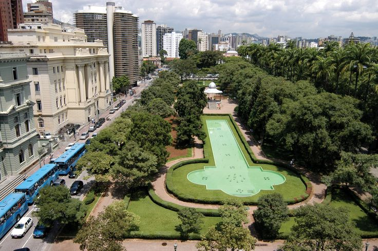 Brazil. Belo Horizonte. Praça da Liberdade
