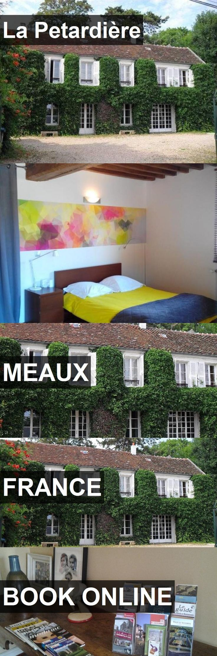 Hotel La Petardière in Meaux, France. For more information, photos, reviews and best prices please follow the link. #France #Meaux #LaPetardière #hotel #travel #vacation