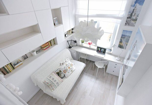 Zdjęcie numer 1 w galerii - Mieszkanie na 15 m kw. Mikroskopijna ale wygodna kawalerka mała powierzchnia small house