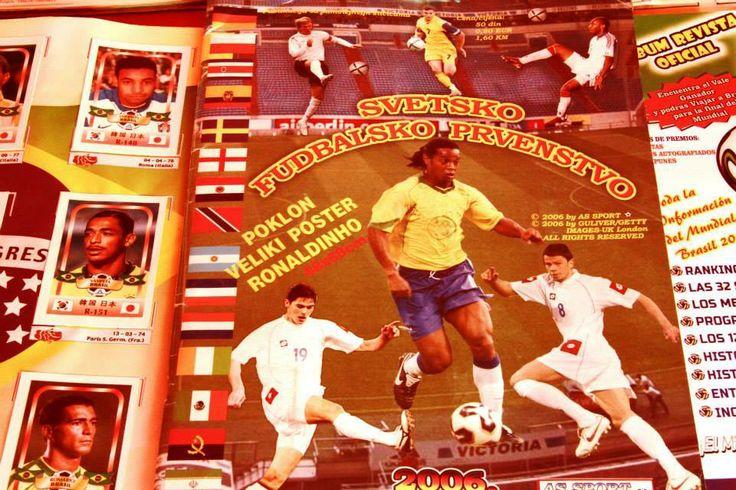 Este álbum de idioma indescifrable es de Serbia, ex Yugoslavia, del mundial de Alemania 2006 / #sports #soccer #fútbol #colección #soccerfan #Surco
