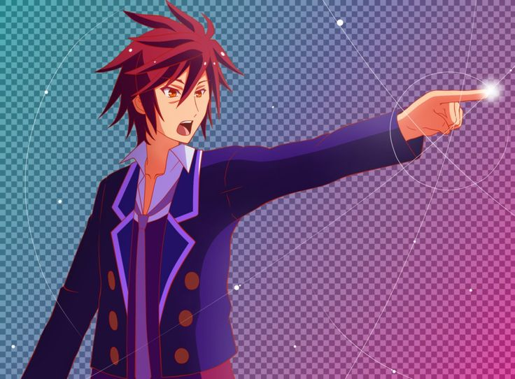 Objection!   Sora (No Game No Life X Ace Attorney) By AlphSteins    Has No Objection