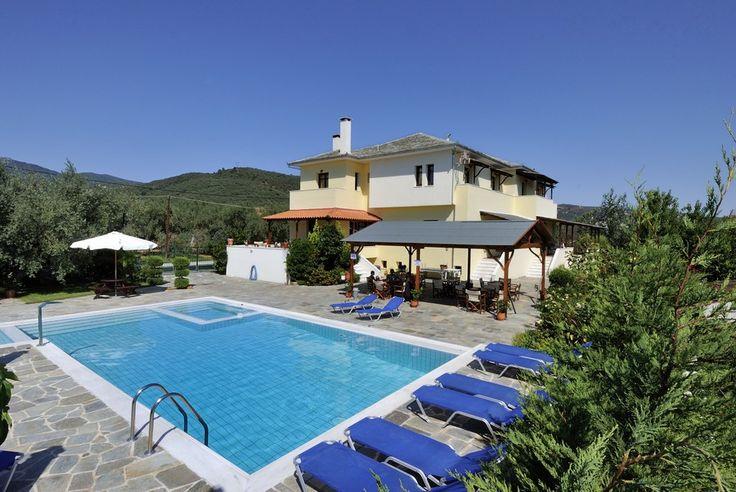 Huize Paliria, Pilion, vakantie Griekenland