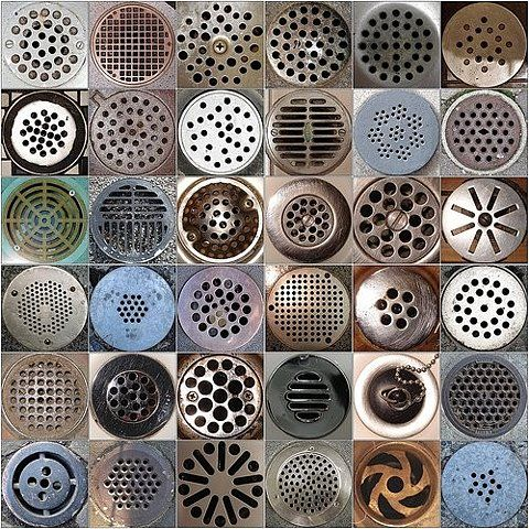Drain cover pattern. #pattern, #design, #oddities