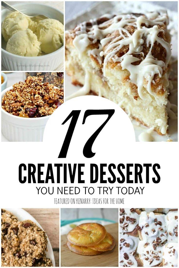 17 Creative Dessert Ideas: New Twists on Old Favorites