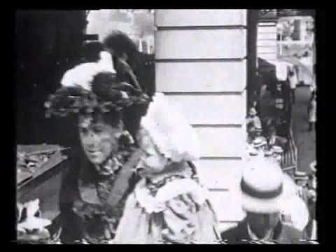the OLDEST surviving film footage of Brisbane, Queensland c1899
