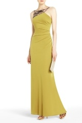 EGEO SEQUINED-YOKE EVENING GOWN: Style, Event, Evening Gowns