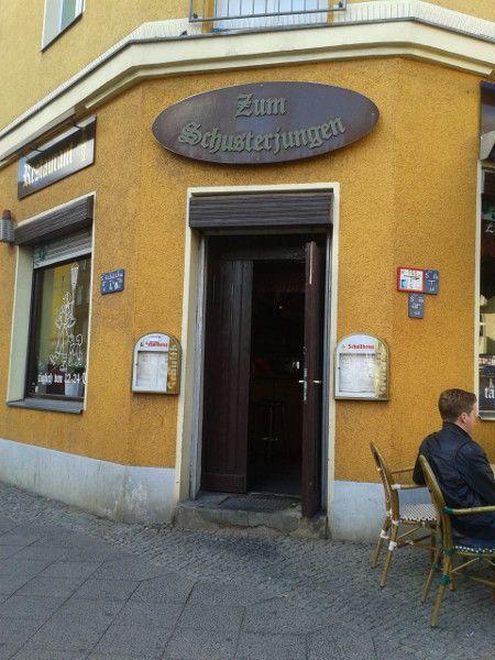 Traditional sundays german food at Zum Schusterjungen - Prenzlauer Berg