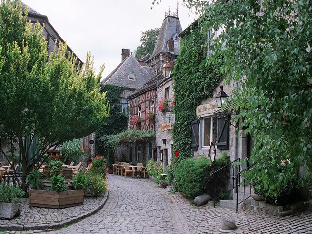 Durbuy, the smallest city in the world.
