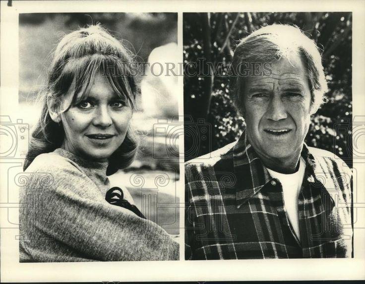 "1981 Press Photo Melinda Dillon and Ronny Cox in ""Fallen Angel,"" on CBS/TV"