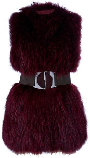 Fur Gilet - Woolworths