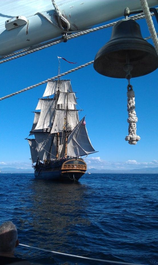 HMS Bounty WE TOUTED THE BOUNTY ON A CARIBBEAN ISLAND BEFORE SHE SANK IN A STORM OFF THE NEW ENGLAND COAST. THEY TOOK HER OUT OF THE HARBOR HOPING TO SAVE HER FROM THE HURIACANE, BUT