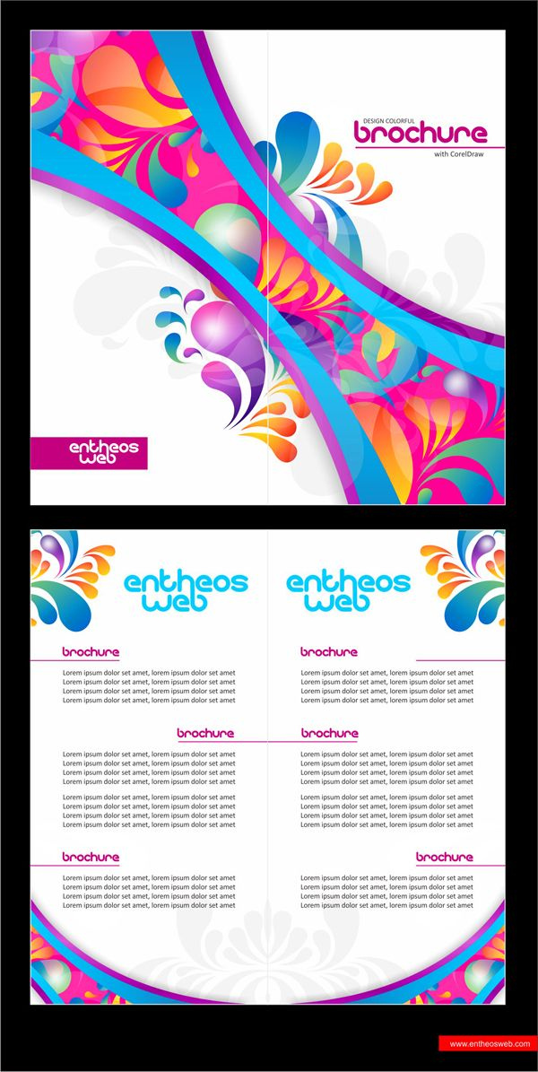 117 best coreldraw images on pinterest coreldraw design for Coreldraw brochure templates