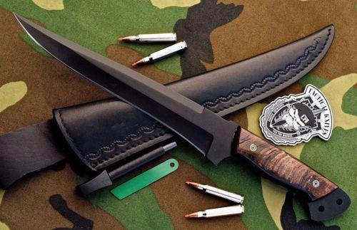 CFK-USA-Custom-Handmade-1095-Black-Powder-Coat-German-Combat-Sheep-Horn-Knife