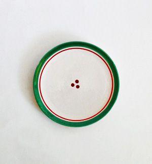 tanier malý - klasik (červeno-zelený)