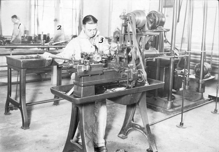 Turret Lathe c. 1923. [19741373]