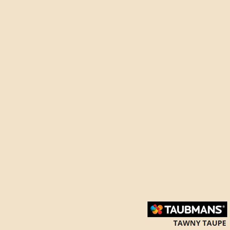 #Taubmanscolour #tawnytaupe