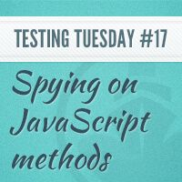 Learn how to test Javascript method calls with Jasmine spies in this screencast.