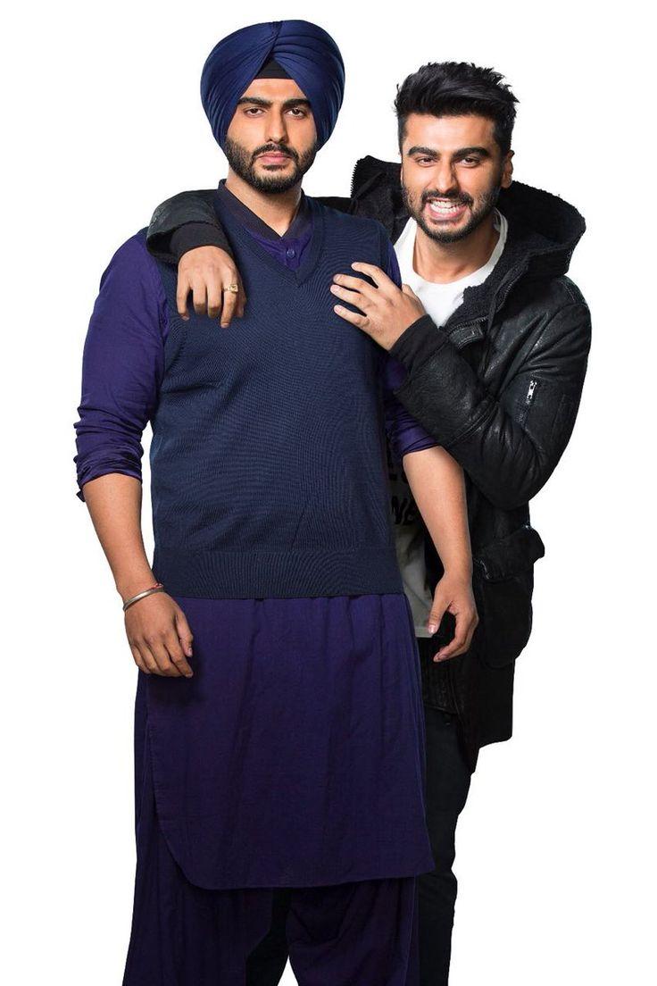 mubarakan movie first look arjun kapoor double role