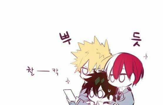 Boku No Hero Academia: Yaoi Pics - El trio amoroso 6 - Wattpad