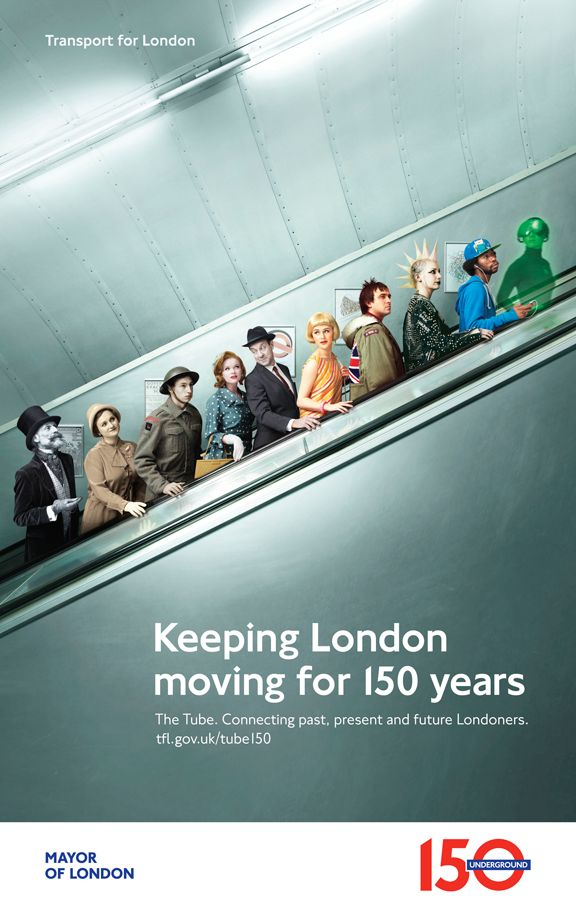 David Stewart Celebrates London Underground's 150th Anniversary