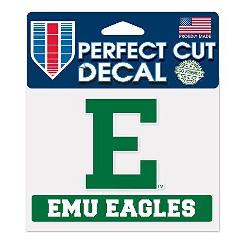 """Eastern Michigan University Perfect Cut Color Decal 4.5"""" x 5.75"""""""