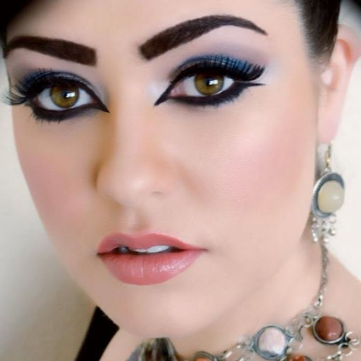 Hit the right note with a bold Arabic inspired look. Use ...