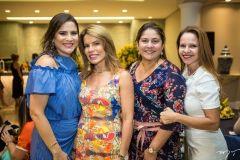 Luciana Borges, Maira Silva, Silvana Fialho e Claudiane Juaçaba