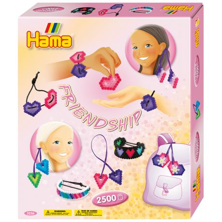 Piątek:) Weekend przed nami:)  Prosto z Danii Zestaw Hama 3236 - Breloczki Ozdoby to aż 2500 Koralików Midi 5mm dla Dzieci od lat 5.  Sześciokątna podkładka, sznureczek, kolorowe projekty, instrukcje oraz papier do zaprasowywania.   Sprawdźcie sami jakie ozdoby i branzoletki moża wykonać:)  http://www.niczchin.pl/zabawki-dla-pieciolatka-5/2450-hama-3236-breloczki-ozdoby-koraliki-midi.html  #hama #hama3236 #koraliki #midi #breloczki #dyi #zabawki #niczchin #krakow