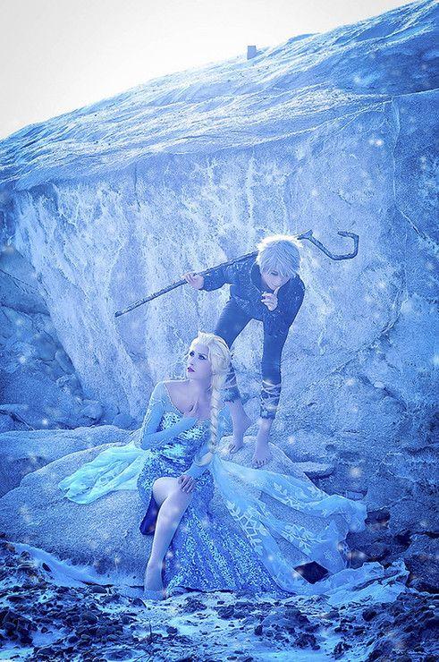 ★ #CosplayStyle: TOO ★ Elsa (FROZEN) & Jack Frost (guardian) | Akatsuki Tsukasa