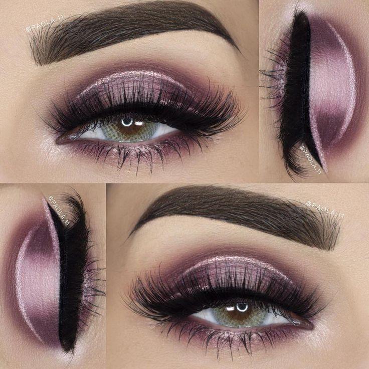 Eye makeup ideas, pink