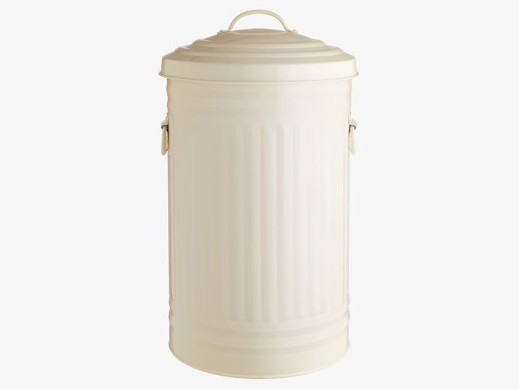 ALTO NEUTRAL Metal 52l cream steel waste bin - practical