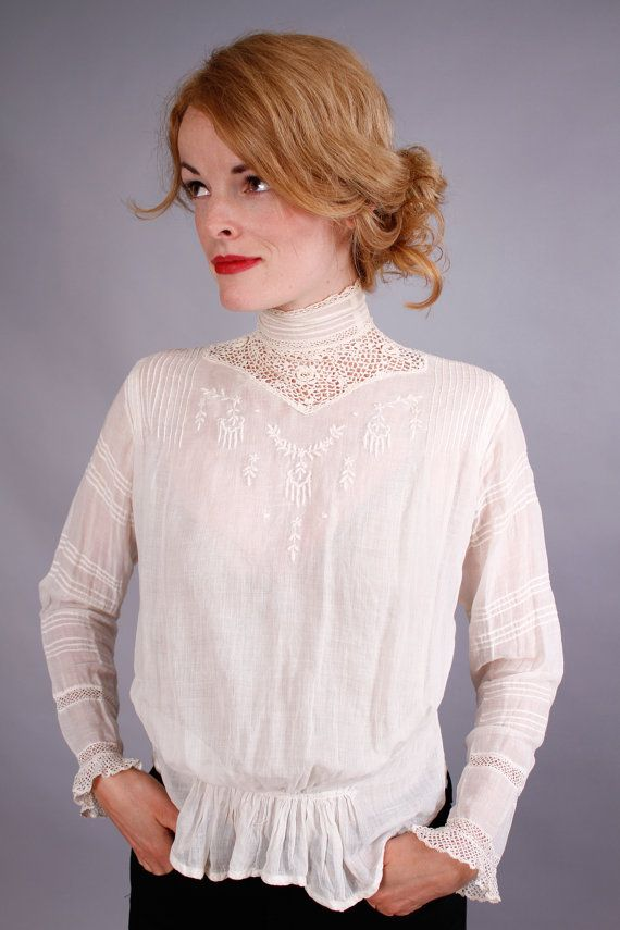 I love everything about this blouse, except the shirring at the hem
